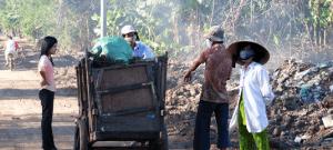 Affaldsoprydning i Vietnam