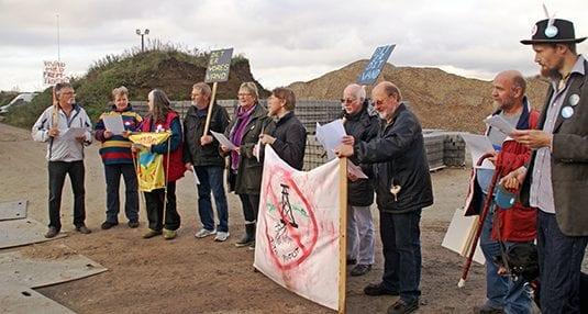 demonstration foran boreplads