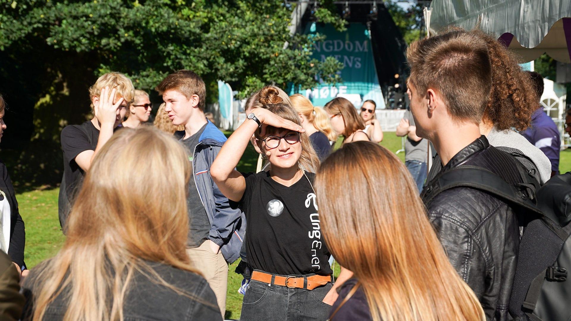 UngEnergi på Ungdommens Folkemøde