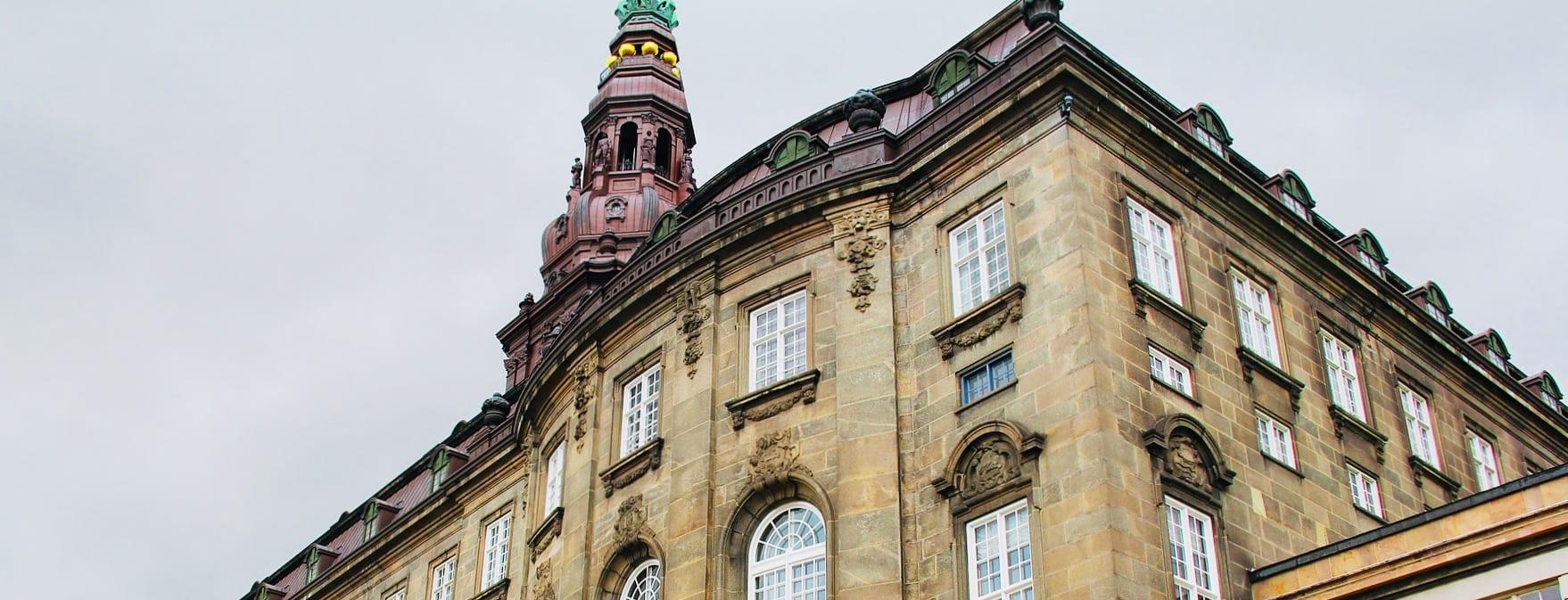 Christiansborg i København, Danmark