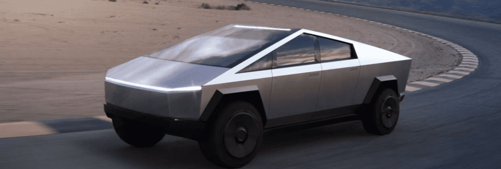 Tesla Cybertruck moderne el-bil