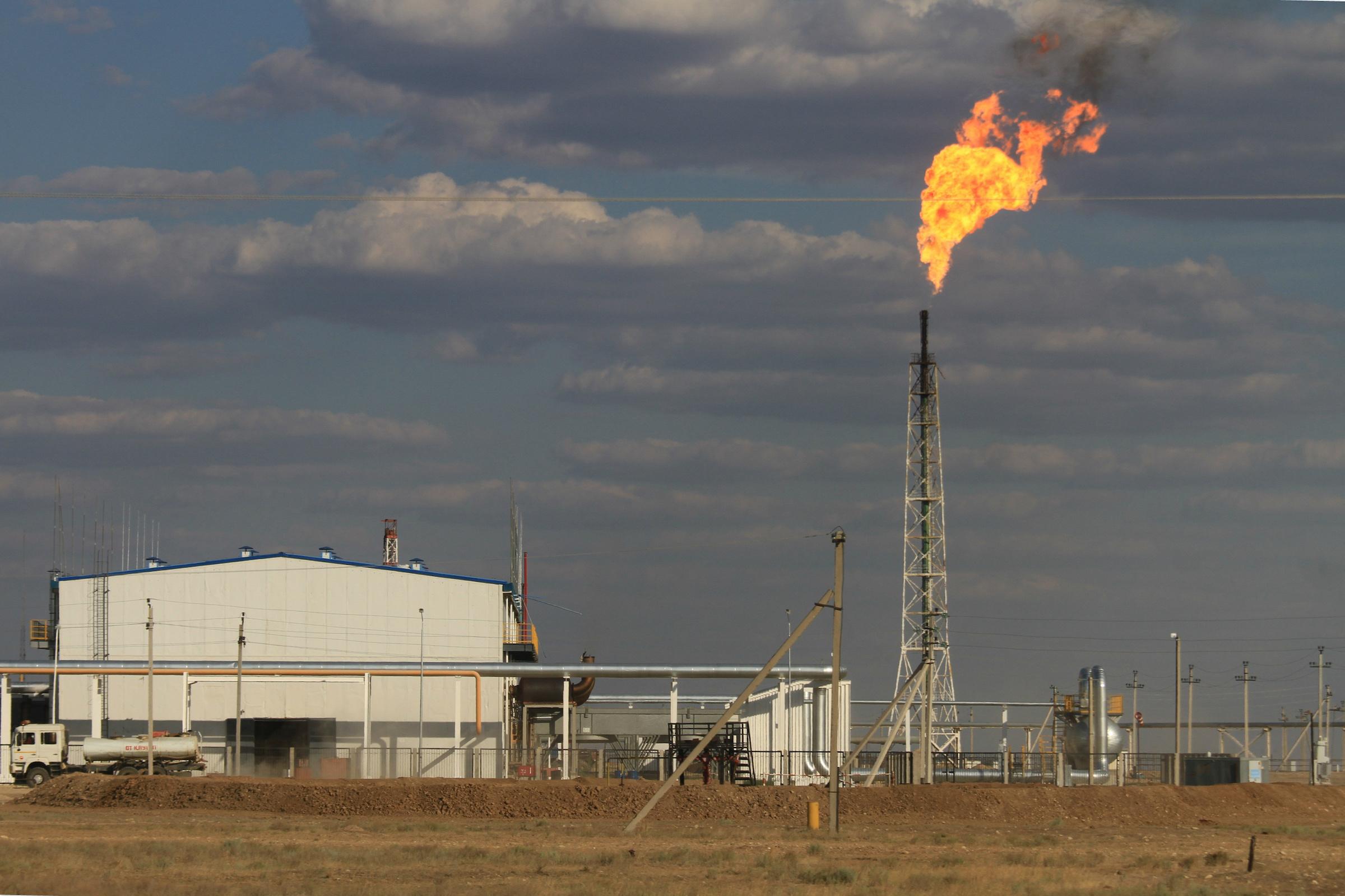 China National Petroleum Corporation facility in Kazakhstan, Foto: Crude Accountability